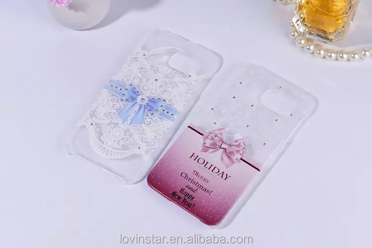 Sister Gift Bow Plastic Cover for samsung galaxy cell phone case