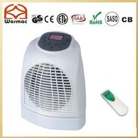 Portable Room Fan Heater with Remote Control,Timer and LCD display