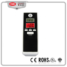 Digital breathalyzer with mouthpiece, alcohol tester for car