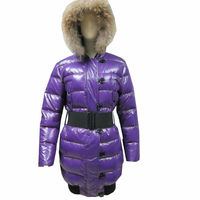 Wholesale Shiny Nylon Women Winter Long