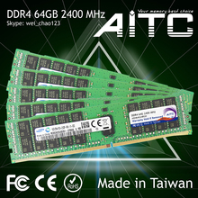 High performance AITC 2400MHz DDR4 server ram 64gb memoria module