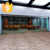 China supplier frameless glass sliding door