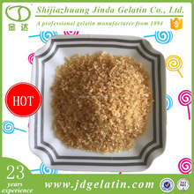 High transparency pork beef skin gelatine granular for produce confectionery