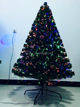 4FT Fiber Optic Artificial Christmas Tree With LED Lights