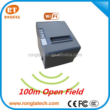80mm Wifi thermal printer, cash register, pos receipt printer with DHCP functions