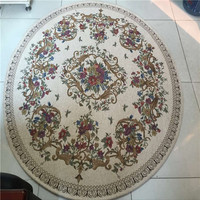 High Quality large chinease silk round rugs for home decoration