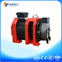 1350kg noiseless gearless motor motor for tv lift