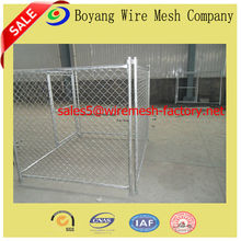 high quality chain link dog cages/fence(factory)