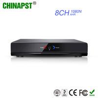 China Best Quality h.264 AHD/Analog/IP Cameras Hybrid Cloud 8CH DVR AHD 1080N PST-AHR008NA