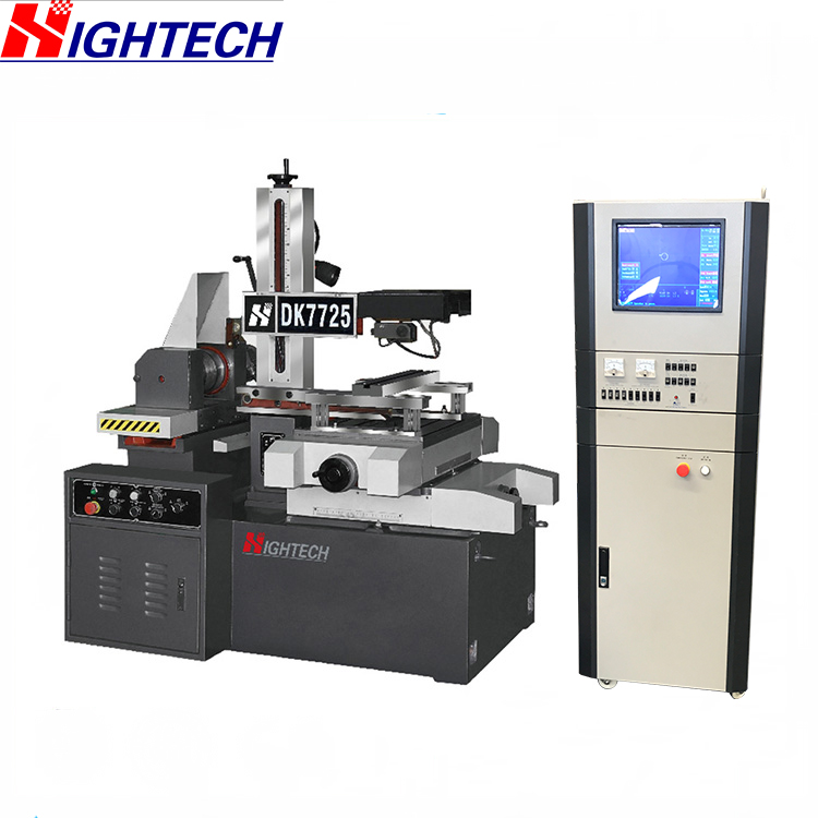 Wire Cutter Machine | Dk7732 Cnc Wire Cut Machine Edm Small Wire Cutting Machine Buy
