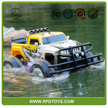 NEW!! 4WD Amphibious Car, High Speed RC China SUV cars with music, Big RC Amphibious Car