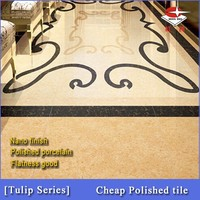 Quality ensured factory direct sale porcelain floor tile in China,Sample available-Tulip series 6977