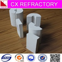 Light weight calcium silicate insulation section pipe