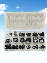 225 pcs rubber O- ring assortment Hardware sets