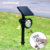 solar yard light Color Outdoor Landscape Spotlight Security Lighting Dark Sensing Auto On/Off for Patio Yard Garden Driveway