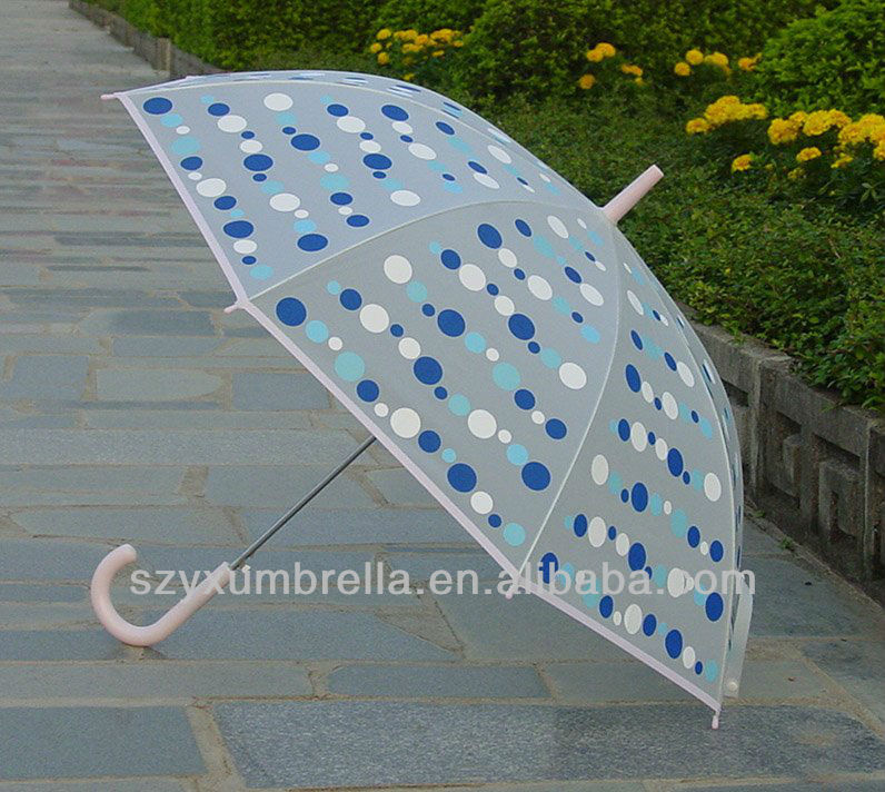 recycle clear transparent pvc umbrella bag