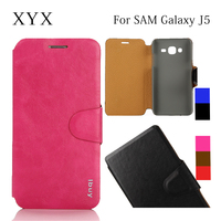 high quality leather flip cover for samsung galaxy s3 s4 s5 s6 s6 edge note 2 3 4 j4 j5 j7, for samsung galaxy j5 case