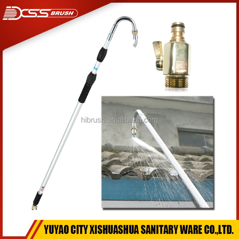 car wash brush,3 meters gutter cleaner high pressure water wand with long handle