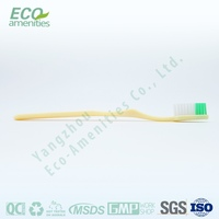 Jiangsu Airline disposable toothbrush and toothpaste combined is hotel toothbrush