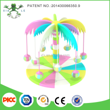 Kids Revolving Palm Tree Electrical Indoor Playground Equipment For Sale