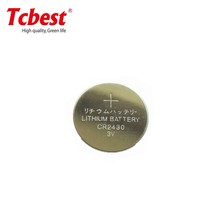 good price CR2430 270mah button battery