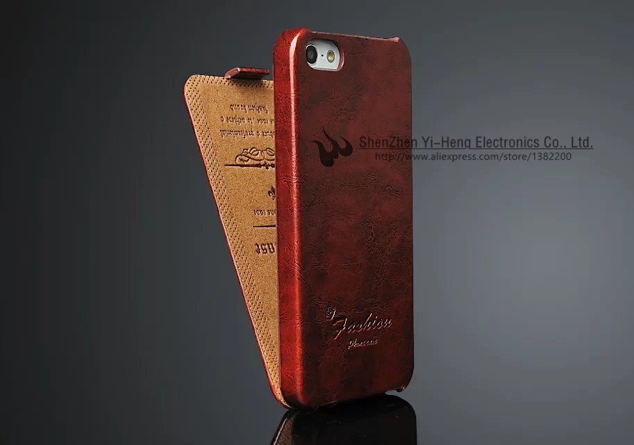 New Arrival Hot Sale Luxury Grid Leather Case Cover For Apple iPhone 5 5S Phone Bags Cases For iPhone5 5S