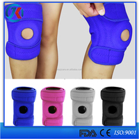 china supplier breathable neoprene opening patella knee support pads for arthritis