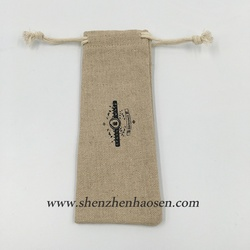 New Product Small Drawstring Jute Pouch, Jute Bag For Watch