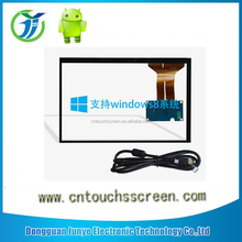 Large size 5 wire touch screen panel , waterproof flexible touchscreens frame for tv