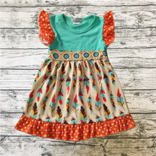 Leaf Printing Wholesale Baby Frock Design Pictures <strong>Girl's</strong> Boutique <strong>Dress</strong> Tanks Skirt For Girls