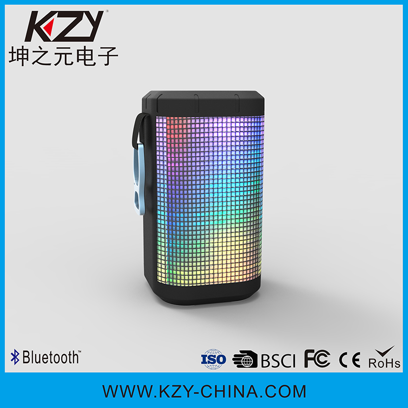 Hot-sell portable pocket mini bluetooth subwoofer speaker with led light