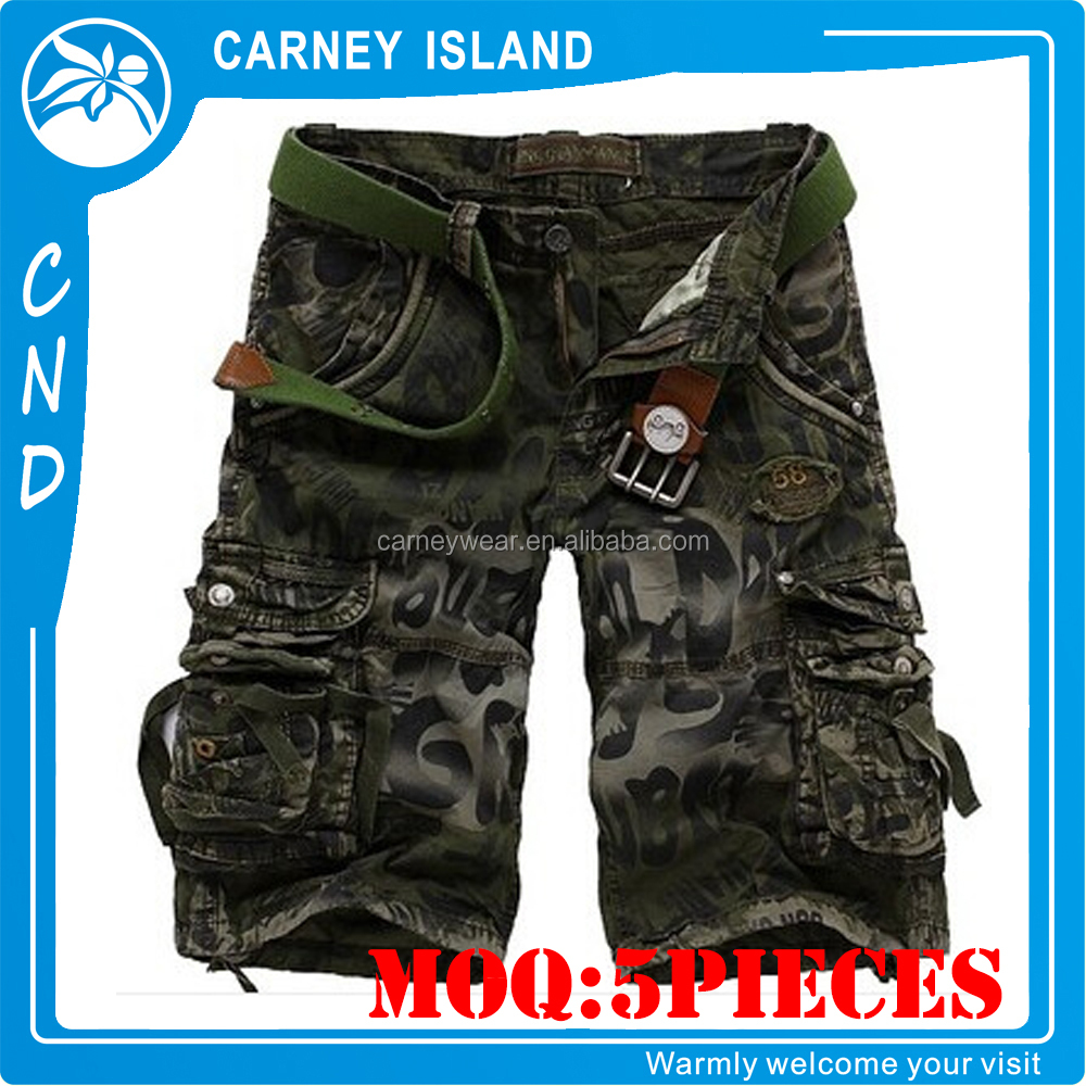 summer heavy cotton In-Stock Items cargo shorts for men