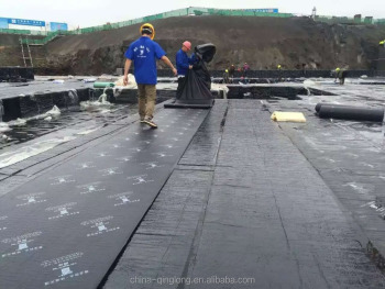 PCM self- adhesive roof modified asphalt waterproof membrane export to Vietnam