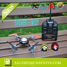 Hottest! 998-V2 2.4GHz 6-Axis Model toys RC UFO 3D Quadrocopter - Drohne UFO For Sale