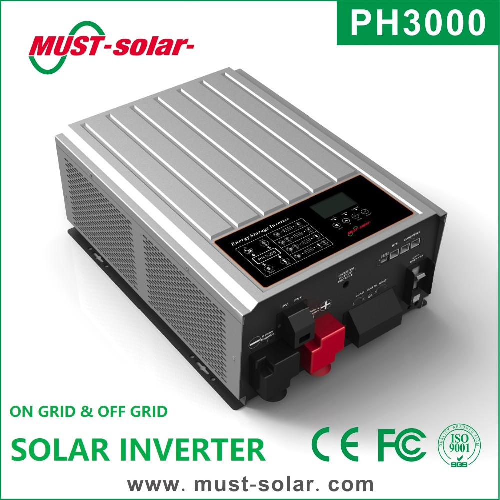 MPPT Solar Charger Hybrid Solar DC to AC home use 5kva Inverter