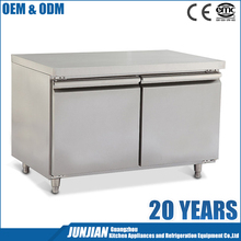 1200mm Commercial Stainless Steel sandwich salad prep worktable refrigerator counter