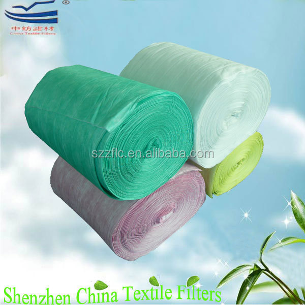 Activated carbon nonwoven filter paper odor absorbing material for air purifier
