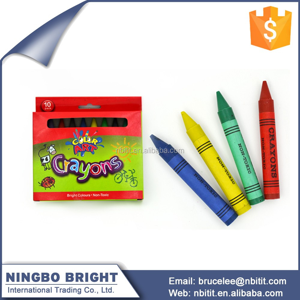 New Design Unique Non Toxic stationery oil wax crayons set