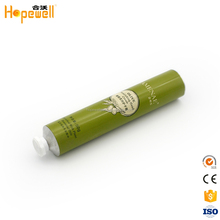 High quality hand cream cosmetic packaging foil sealing paint collapsible aluminium tubes