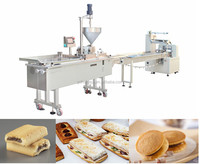 germany automatic bread sandwich creaming equipment in food industral