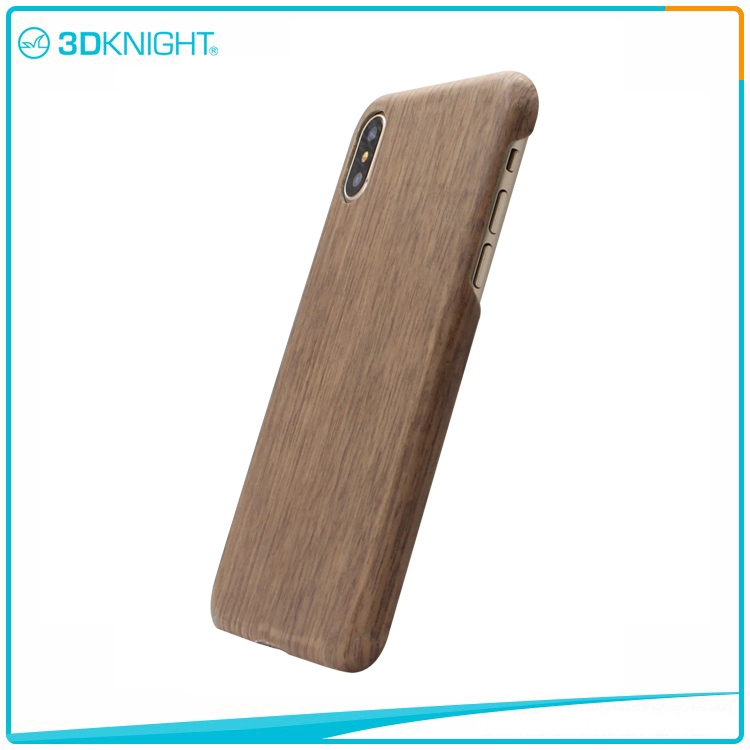 Aramid Fiber Wooden Mobile Case For Iphone X Wood Cover