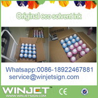 Best eco solvent pigment ink for indoor inkjet novajet 750 printer