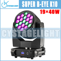 Most Popular Clay Paky 19x15w Beam Wash Moving Head Lighting B Bee Eye K10 Led Moving Head Stage Light