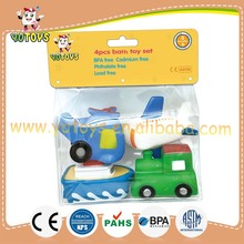 Phthalate free custom vinyl bath toy in pvc bag ,pvc vinyl toy for promotion