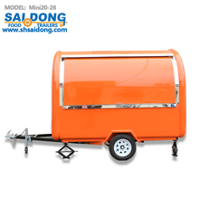 multifunctional outdoor foodcart with factory price