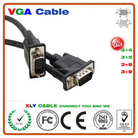 Alibaba Best Sellers HD15 Male to HD15 Male Different Lenght Vga Cable