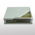 Economic high quality glass magnesium sandwich panel for clean room from China
