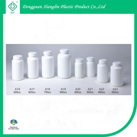 Medicine HDPE plastic health care supplement bottle 750ml