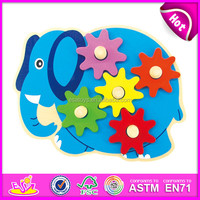 2013 Most Popular kids educational wooden jigsaw puzzles W14A102