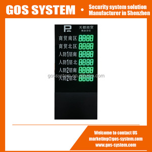 Outdoor Parking Guidance System LED Display Screen for Car Parking Guidance